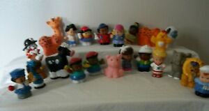 LOT OF(67 Fisher Price Little People Figures & Animals