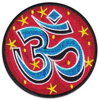 Om Symbol Yoga Goa Zeichen Goa Psychedelic Aufnäher Patch Bügelbild Aufbügler