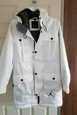 Men's NIKE AIR JORDAN Ultimate Aeroloft Winter Coat Jacket White Size XS