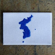 SOUTH/NORTH KOREA UNIFIED FLAG PATCH 한국의 재통일 KOREAN WINTER OLYMPICS LIMITED ED.