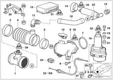 GENUINE BMW E32 E34 E36 E38 T-SHAPE IDLE REGULATING VALVE 0280140532 13411733090