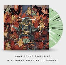 Dance Gavin Dance Afterburner Exclusive Mint Green Splatter Color Vinyl LP /300
