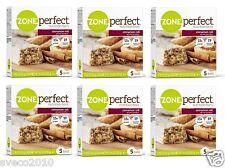 CINNAMON ROLL 30 ZONE PERFECT NUTRITION PROTEIN BARS ~ 15 G PROTEIN ~ FRESH