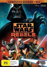 Star Wars Rebels : Season 2 (DVD, 2016, 4-Disc Set)
