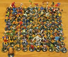 Heroclix Miniatures Lot 100 Marvel DC Figures Flyers RPG Hero System Champions A