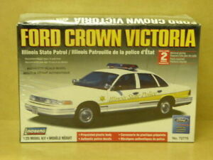 1:25 FORD CROWN VICTORIA ILLINOIS STATE  PATROL Lindberg 72776