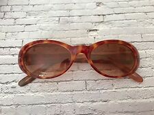 90s does 60s vintage faux tortoiseshell sunglasses Mod gogo oval cateye