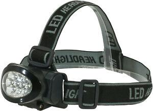 Stirnlampe Saenger X-Light Q 10 mit 10 LED´s Kopflampe Stirnleuchte Lampen