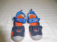 Boys Osh Kosh B'gosh Water Shoes Sandals Blue Orange Size 12