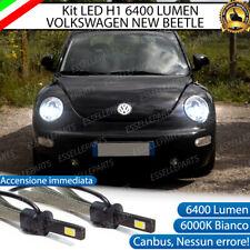 KIT FULL LED VW NEW BEETLE LAMPADE ABBAGLIANTI LED H1 6000K BIANCO NO ERROR