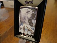 MAZZI POLAR BEARS ZIPPO LIGHTER MINT IN BOX