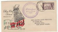 Australia Broken Hill 1958 FDC with special cancel
