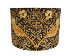 Handmade Lamp/Celing Shades  William Morris Fabric Strawberry Thief Grape/Gold