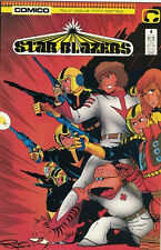 Star Blazers Comic Book #4 Comico 1987, Very Fine