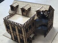 28mm Fantasy Gaming Scenery Tavern Ruin