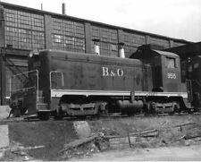7DD998 RP 1974/1980s? BALTIMORE & OHIO RAILROAD ENGINE #9515 PITTSBURGH PA