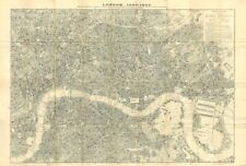 CHARLES BOOTH LONDON MAP Pubs Restaurants Churches Schools Synagogues 1902