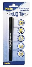 LAUNDRY MARKER / GARDENERS PEN DUO TIP IDEAL FOR UNIFORMS OR WRITING EXTERNALLY