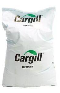 25kg Pure Dextrose Powder Glucose Monohydrate CARGILL brewing sugar