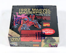 1993 Skybox Marvel Masterpieces Limited Edition Trading Card Box (36 Packs)