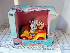 Vintage Looney Tunes Lovables Wobbly Jalopy Warner Bros Action Figure 1995 Tyco