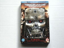 BLURAY TERMINATOR SALVATION T-600 LIMITED EDITION DIRECTOR'S CUT - Collectors