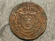 Jeton cuivre Louis XVIII des notaires d'Amiens 1816 Somme Picardie introuvable !