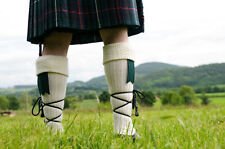 1 Mens Scottish Highland 65% Wool Rich Long Hose Kilt Socks / UK 6-11