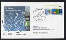 K-003) Germany 2007 beautiful FDC  - 50 years of Science and Humanities