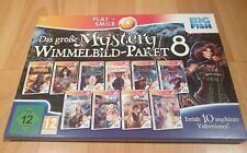 Das große Mystery Wimmelbild Paket 8 mit 10 Vollversionen PC DVD-ROM top