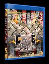 CZW - CAGE OF DEATH XVIII BLU-RAY wrestling Combat Zone Tremont Joey Janela GCW