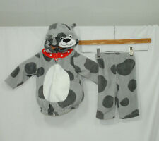Carters Infant 6-9 Months Gray Spotted Dog Puppy Halloween Costume Dress Up Play