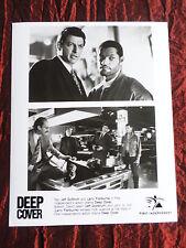 PUBLICITY PHOTOGRAPH- DEEP COVER - JEFF GOLDBLUM - LARRY FISHBURNE -  8 X10