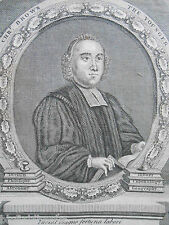 Reverend Chris/Christopher Brown the Younger c1770 - Engraving/Engraved Portrait