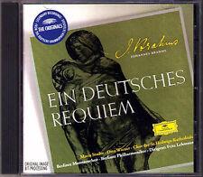 Brahms: un Allemand requiem Maria stader Otto wiener FRITZ LEHMANN CD a German