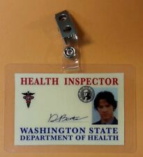 Supernatural ID Badge - Health Inspector Sam Winchester prop costume cosplay