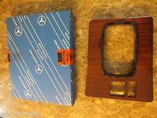 Original Mercedes Abdeckung Holzabdeckung Mittelkonsole W201 A2016803036 Zebrano