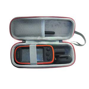 Hard EVA Travel Portable Black Case Bag for GPS Garmin Alpha 100 Alpha100