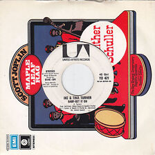 """IKE & TINA TURNER - baby get it on / VERNON BURCH - and you call that love 7"""""""