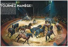 Coupure de presse Clipping 2014 (4 pages) Le Cirque Arlette Gruss   24.01.15