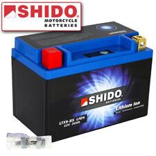 Motorrad Batterie Shido Lithium Ionen LTX9-BS / YTX9-BS (150x87x105mm) LiFePO4