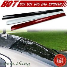 Painted For Infiniti G35 G37 G25 Q40 4D Roof Sport Window Spoiler 2013 PUF #KAC