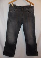 Polo Ralph Lauren Frayed Style Jeans Men`s 36X30 Measures 34X30