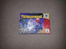 Tetrisphere Nintendo 64 N64 PAL Game Boxed