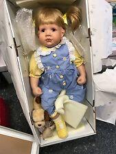 Diane Bucki Porzellan Puppe 70 cm. Top Zustand