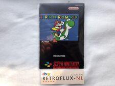 Super Mario World - Manual NOE - Super Nintendo SNES PAL