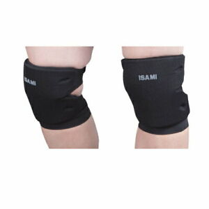ISAMI Knee Guard Pair Color Black free shipping from JAPAN