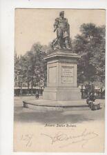 Anvers Statue Rubens Belgium 1905 U/B Postcard 491b