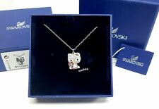 Swarovski Hello Kitty Heart Pendant, Pink Crystal Authentic MIB 5113262