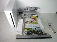 Nintendo Wii Console With All Leads and Wii Sports Game | Fully Tested and Reset